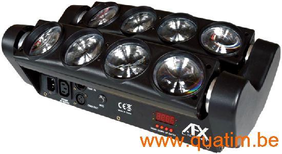 AFX-Light 8BEAM-FX 8 x 8W RGBAW CREE LEDS Spider effect