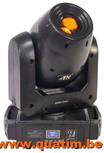 AFX Light MY60-SPOT Movinghead 60W LED met prisma