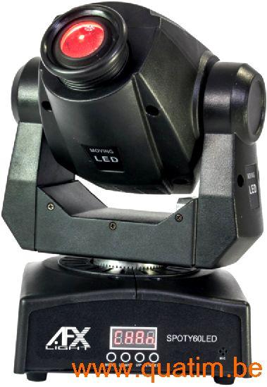 AFX Light SPOTY60LED Compacte Movinghead 60W LED