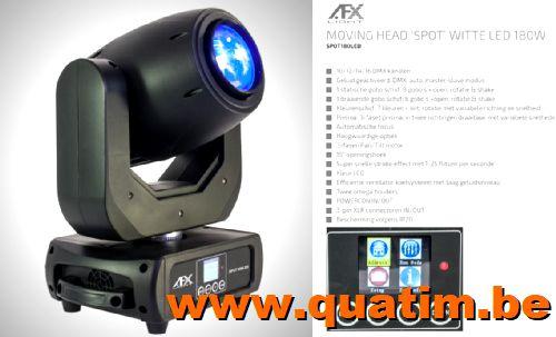 AFX Light SPOT180LED Movinghead 180W LED PRISMA