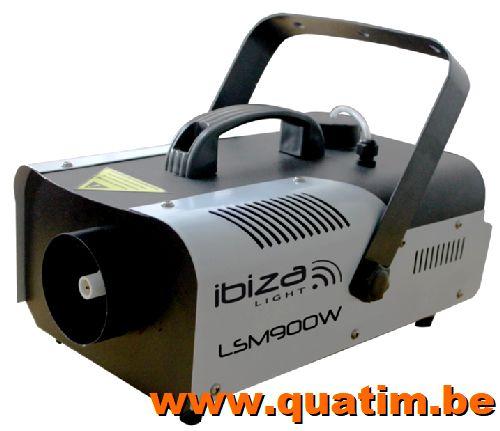 IBIZA Light LSM900W 900W Rookmachine