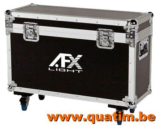 AFX Flightcase voor 2 x AFX SPOT180LED