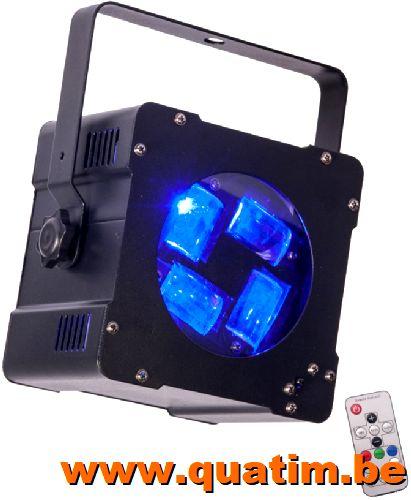 IBIZA Light HYPNO40-LED Licht effect 4 x 10W RGBW CREE LED 4