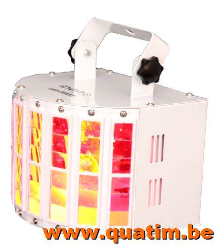 IBIZA Light LED-DERBY LED effect 2 x 10W RGBW - DMX