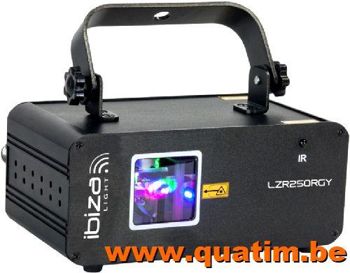 IBIZA Light LZR250RGY 250mW RGY Laser