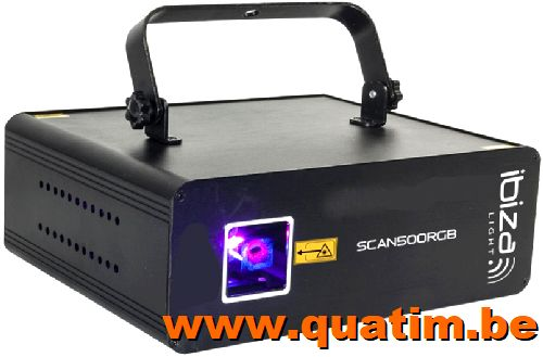 IBIZA Light SCAN500RGB RGB laser 500mW