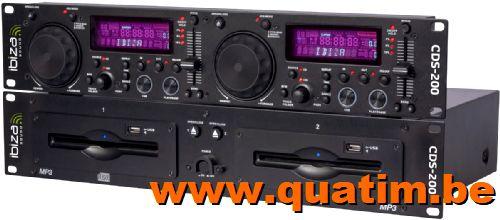IBIZA sound CDS-200 Dubbel CD/USB speler 19