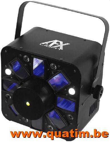 AFX Light COMBOLED-RB RGBWA effect Strobe RB laser