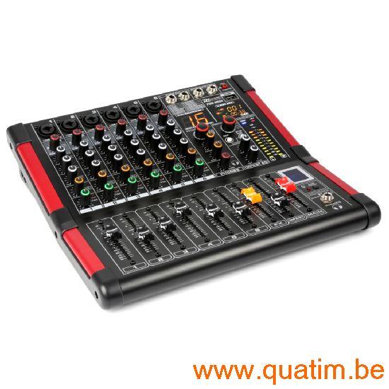 Power Dynamics PDM-M604 6-Kanalen Studio Mixer