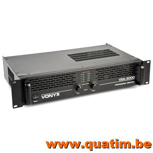 Vonyx PA Amplifier VXA-3000 2x 1500W