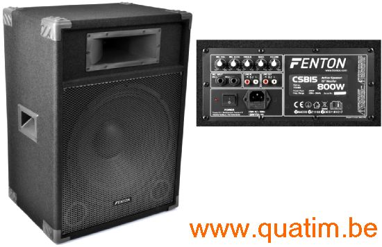 Fenton CSB15 PA Speaker Actief 15