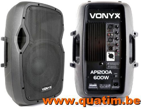Vonyx AP1200A Hi-End Actieve Speaker 12