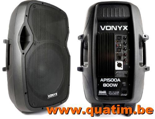 Vonyx AP1500A Hi-End Actieve Speaker 15