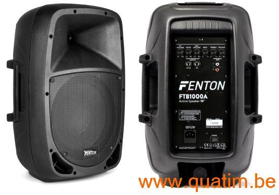 Fenton FTB1000A Actieve ABS Luidspreker 10