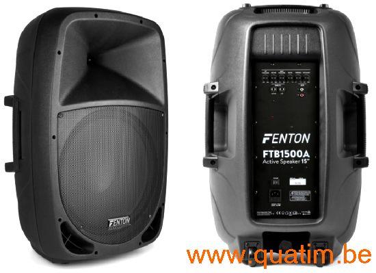 Fenton FTB1500A Actieve ABS Luidspreker 15