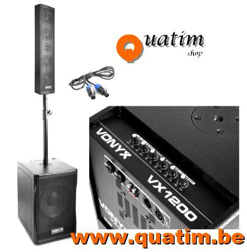 Vonyx VX1200 2-weg Full range Systeem 750W