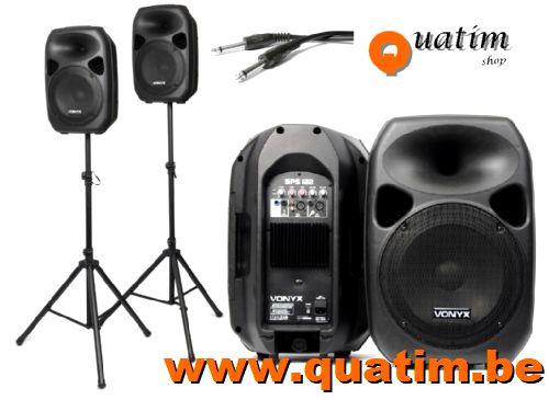 Vonyx SPS122 Actieve Speakerset 12