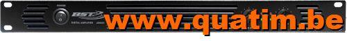 BST AD600 Digitale Power Amplifier 2 x 450Wrms