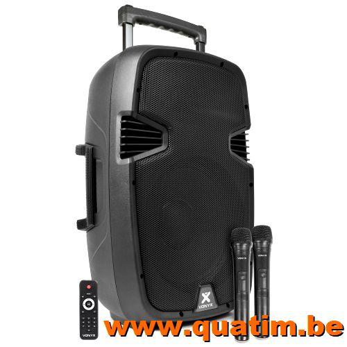 Vonyx SPJ-PA912 Mobiele Geluidsinstallatie ABS 12