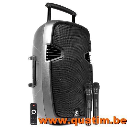 Vonyx SPJ-PA915 Mobiele Geluidsinstallatie ABS 15