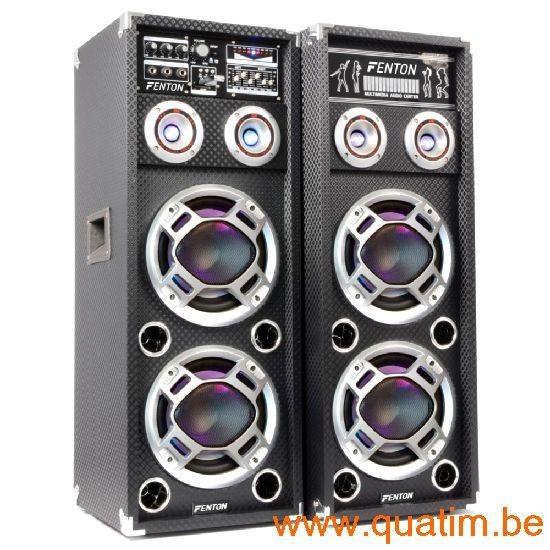 Fenton KA-210 Actieve Speakerset 2x10
