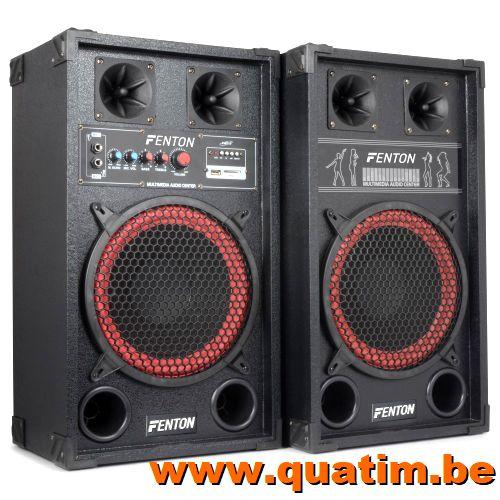 Fenton SPB-10 PA Actieve Speakerset 10