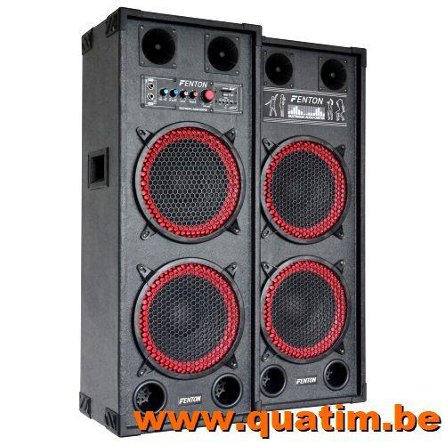 Fenton SPB-210 PA Actieve Speakerset 2x 10