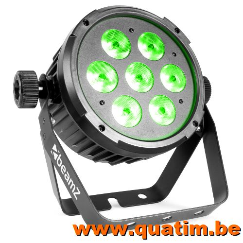 BeamZ BT270 LED Flat Par 7x6W 4-1 RGBW DMX IRC