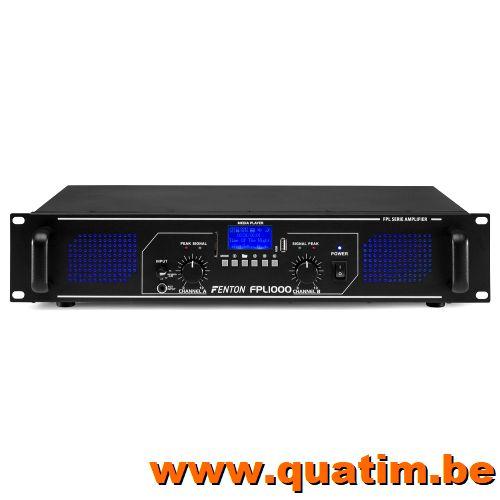 Fenton FPL1000 Digitale Versterker blauwe LED + EQ