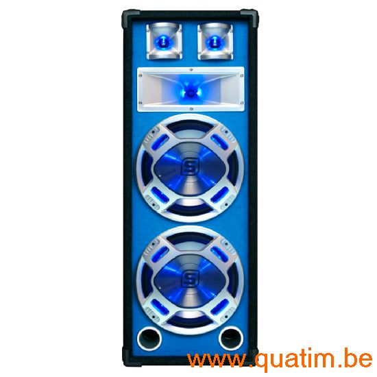 SkyTec Disco PA speaker 2x 8
