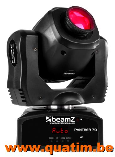 Beamz Panther 70 - 70W LED spot Moving head