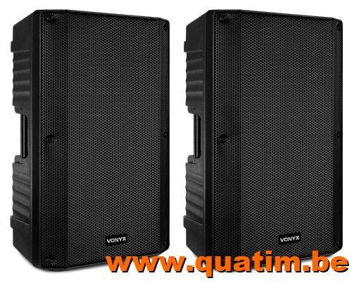 Vonyx VSA120S Actief speaker set 12