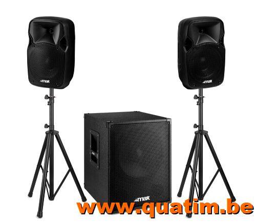 MAX MX700 2.1 actief Speaker set 12