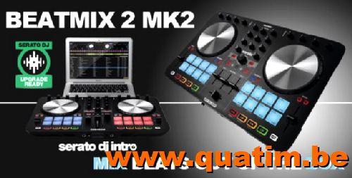 Reloop Beatmix2-MKII 2 kanaal DJ controller incl serato DJ i