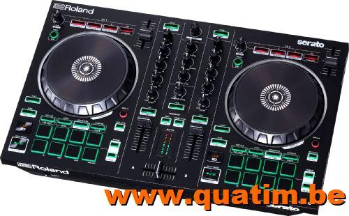Roland DJ-202 2 kanaals DJ controller incl Serato DJ intro