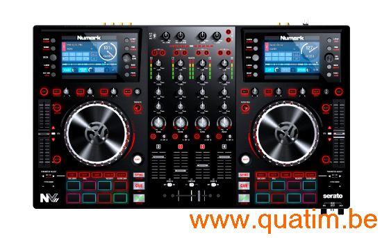 Numark NVII DJ 4 kanaals dj controller met display en serato