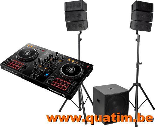 DJ set DDJ400 incl CUBE15A-Array speakerset