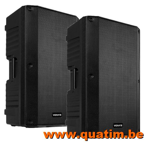 BST XS800 Power Amplifier 2 x 500Wrms