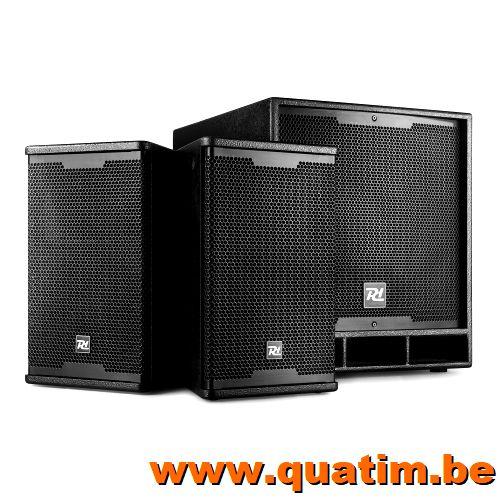 IBIZA Sound SA1000 vermogenversterker 2 x 500W