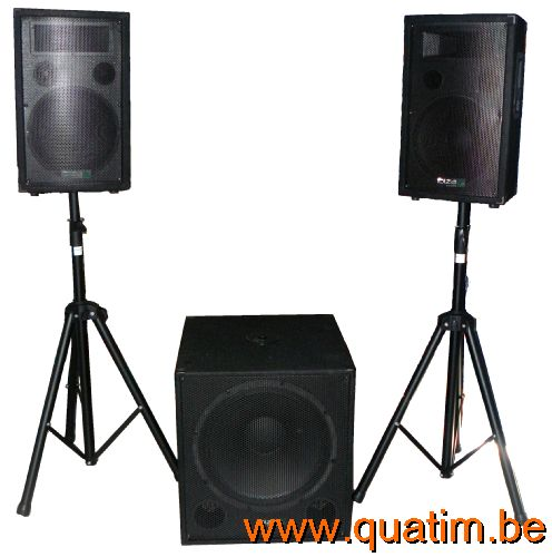 IBIZA sound BTM15A-LED 15