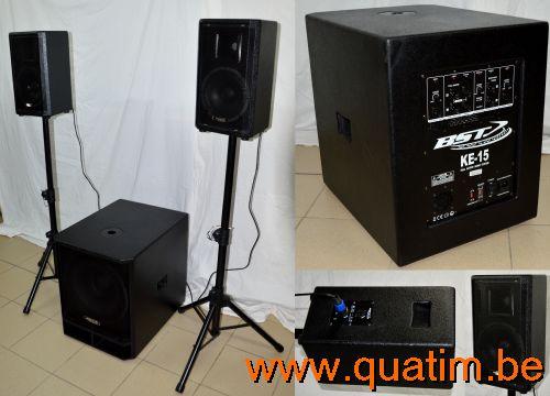 IBIZA sound BT12A 12