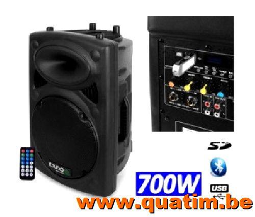 IBIZA sound SLK12A-BT 12