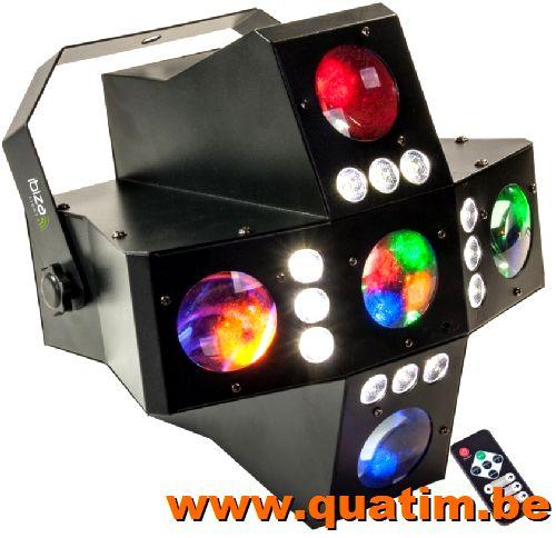 Power Dynamics PDM-M1204A 12-Kanalen Studio Mixer met Verste