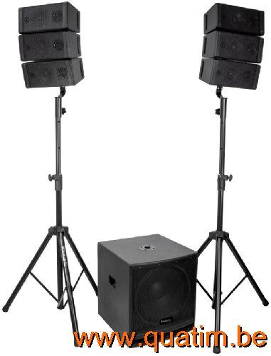 Vonyx PA Amplifier VXA-1200 II 2x 600W