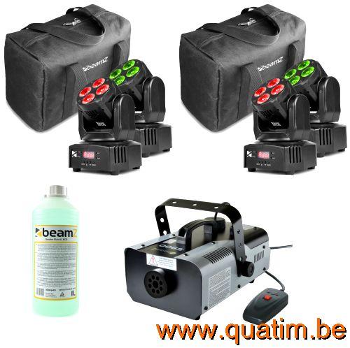DJ set Pioneer DDJ-SB2 met 2 x LM80 Speakers met LED effecte