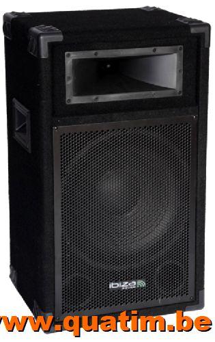 IBIZA sound STAR12B luidspreker 12