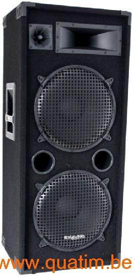 IBIZA sound STAR212 luidspreker dubbel 12