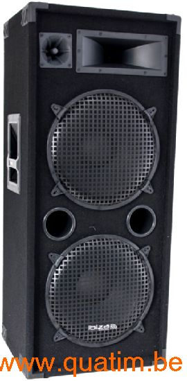 IBIZA sound STAR215 luidspreker dubbel 15