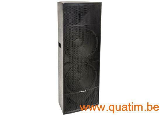 IBIZA sound PA215 luidspreker 2 x 15
