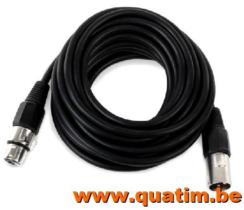IBIZA sound Audio Kabel 10 Meter XLR Female - XLR Male
